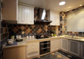 简约美式风格厨房装修设计