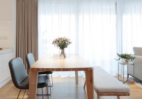 清新现代餐厅装修效果