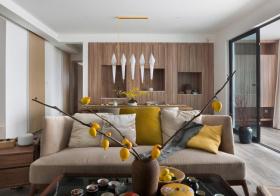 时尚混搭客厅装修设计