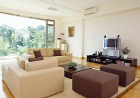 现代日式客厅欣赏美图