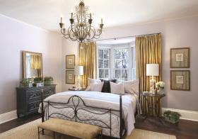 复古简欧卧室装修设计