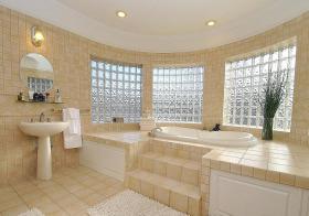 奢华浅色欧式浴室设计美图