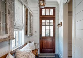 木制北欧玄关装修设计