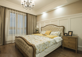 精致优雅欧式卧室窗帘设计