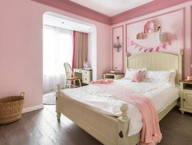 可爱美式卧室装修设计