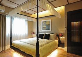 沙幔大气简欧卧室设计