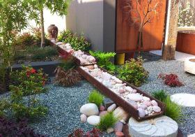 清新现代花园设计美图