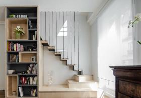 清爽简约楼梯装修设计