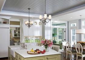 温馨田园厨房设计