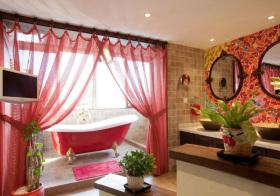 热情东南亚浴室设计