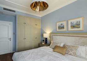 浪漫简约卧室装修设计