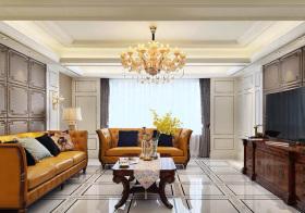 古典欧式客厅装修效果
