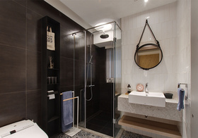 时尚现代卫生间装修设计