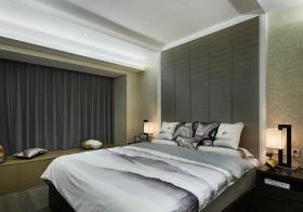 典雅新中式卧室飘窗设计