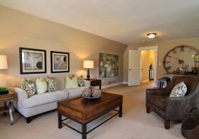 复古美式客厅装修设计