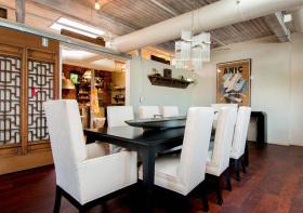 古典混搭餐厅装修设计