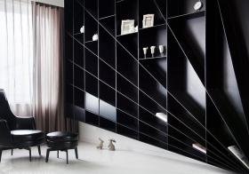 创意现代书房橱柜装修设计