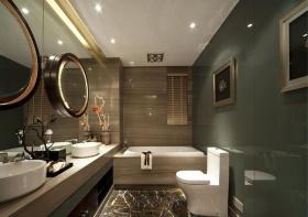 精致现代卫生间装修设计