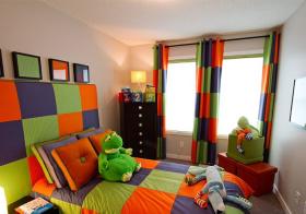 活力现代儿童房装修设计