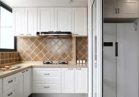 简洁美式厨房装修设计