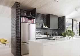 时尚北欧开放厨房装修