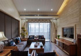 典雅中式客厅装修设计