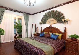 风情东南亚卧室装修设计