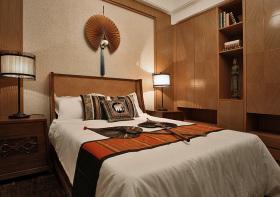 温馨东南亚卧室装修设计