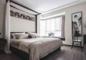 水墨中式卧室装修美图