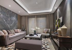 大气现代客厅装修设计