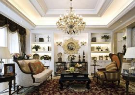 奢华欧式客厅装修美图