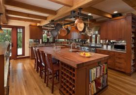温馨美式厨房装修设计