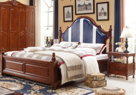 复古美式卧室设计美图