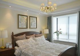温馨美式卧室设计美图