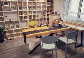 实用日式书房书柜设计