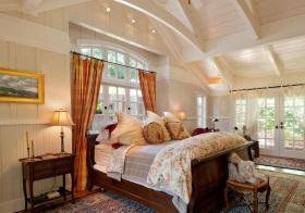 田园风美式卧室设计美图