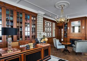 奢华新古典书房设计美图
