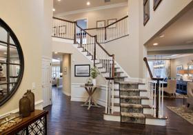 典雅简欧楼梯设计美图