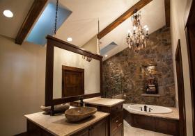 创意美式卫生间设计