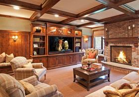 温馨新古典客厅设计美图