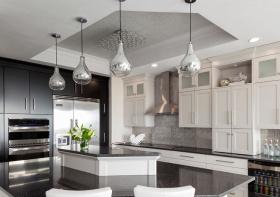 时尚现代厨房装修设计