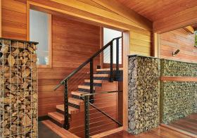 木制东南亚楼梯设计美图