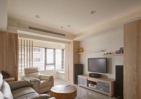 清爽日式客厅装修设计