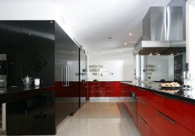 质感现代厨房装修设计