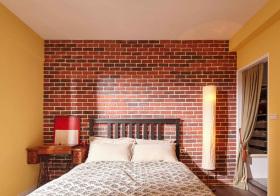 创意美式卧室背景墙设计