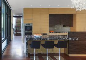 时尚现代厨房吧台设计