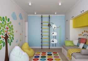手绘宜家儿童房设计美图
