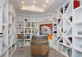 创意现代酒柜设计美图