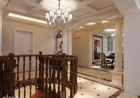 简奢欧式楼梯吊顶设计