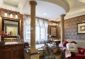 奢华欧式卫生间装修设计
